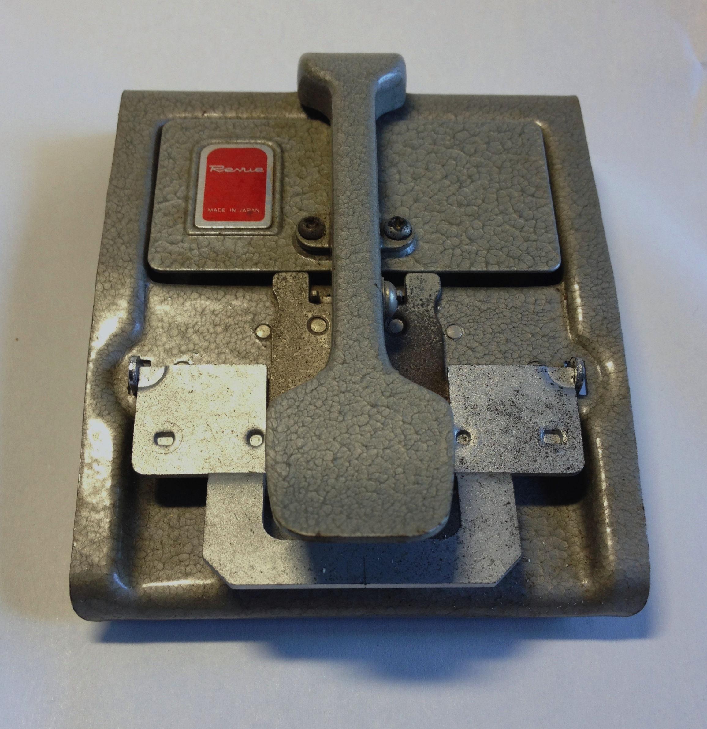revue super 8 patch tape splicer anleitung mac thor. Black Bedroom Furniture Sets. Home Design Ideas