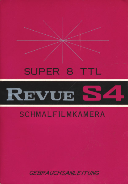 Revue Super-8 Schmalfilmkamera S 4